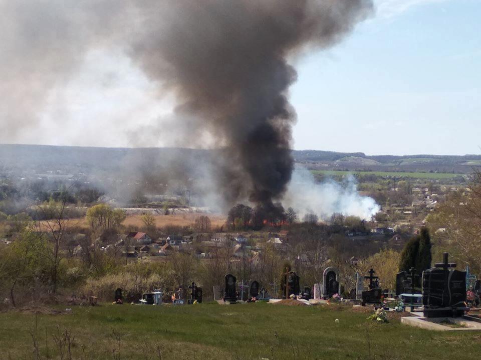 На Черкащині місцеві жителі ледь не спалили селище