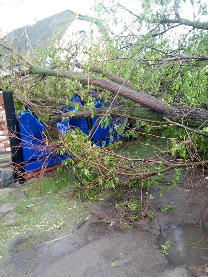 Злива на Катеринопільщині наробила лиха
