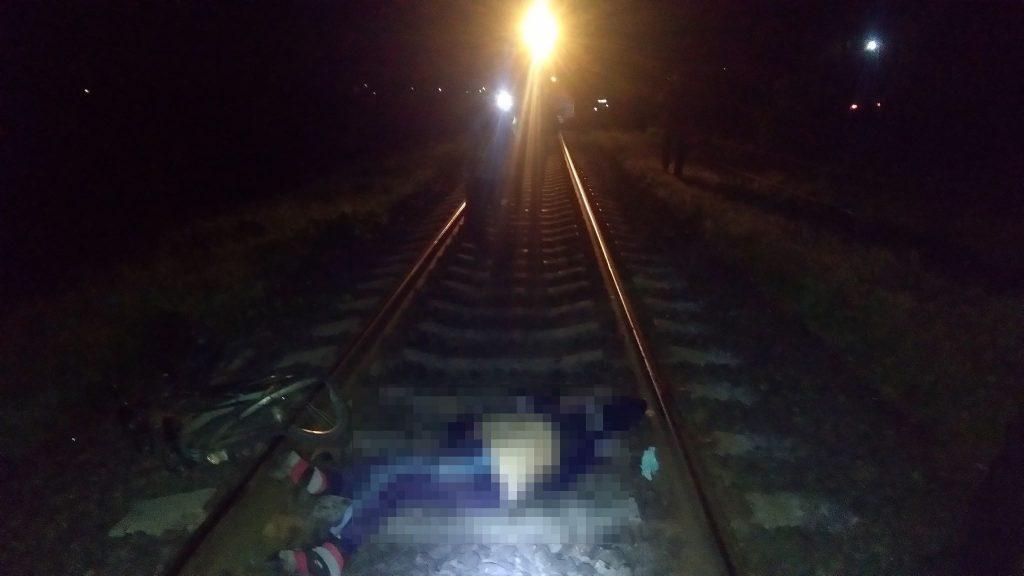 На Черкащині поїзд переїхав чоловіка