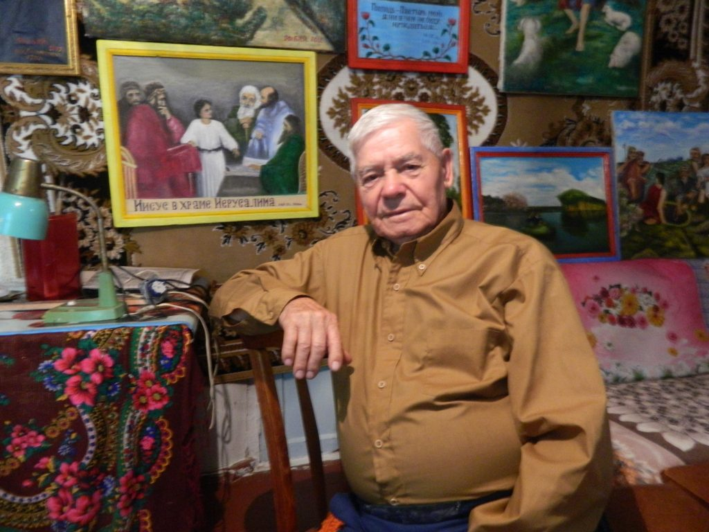 91-річний художник із Звенигородки розповів про те чому повернувся з Америки в Україну