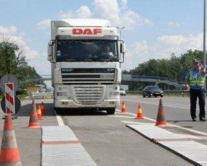 Вагу вантажівок перевірятимуть цілодобово