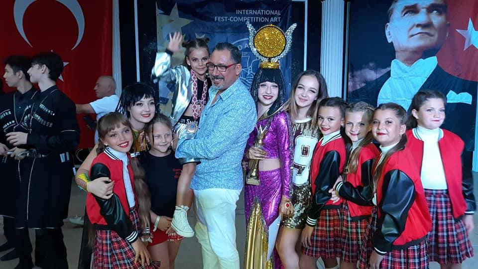 Ватутінська танцювальна студія завоювала Гран-прі та 6 перших місць на фестивалі в Туреччині