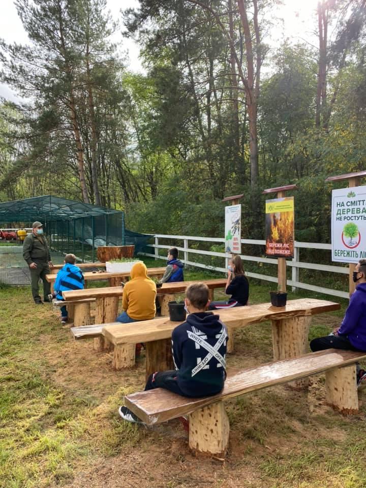 У Лисянці відкрилася лісова школа